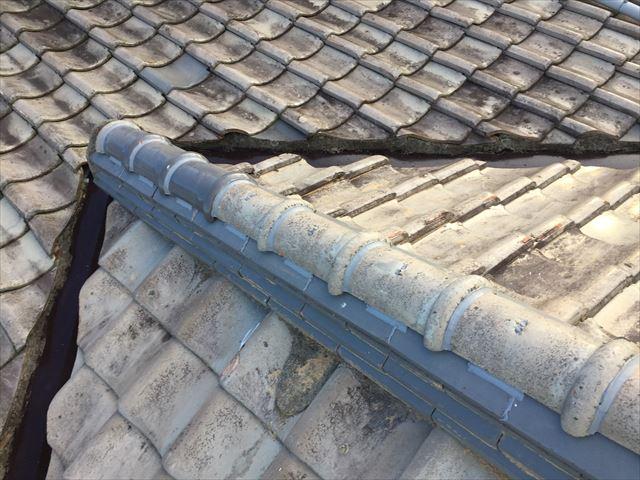 岡山市南区 火災保険で屋根修理