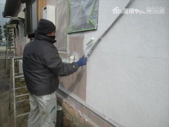 岡山市北区 雨漏り修理 外壁塗装 下地処理