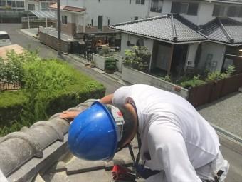 赤磐市 屋根修理 調査依頼