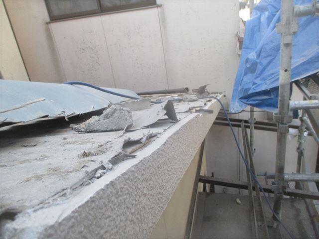 岡山市北区 瓦屋根葺き替え工事 瓦徹底