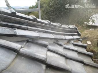 吉備中央町 三日月漆喰補修