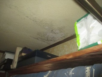 岡山市東区で雨漏り調査