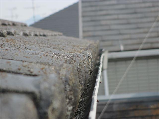 岡山市南区で雨どいの雨漏り修理