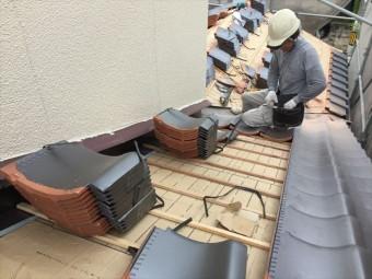 岡山市南区 屋根工事 雨漏り修理