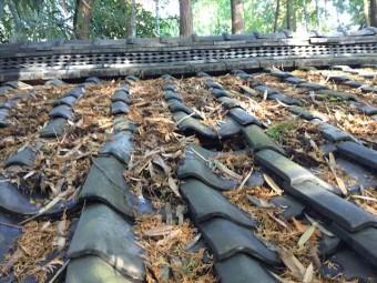 井原市 雨漏り修理 工事前