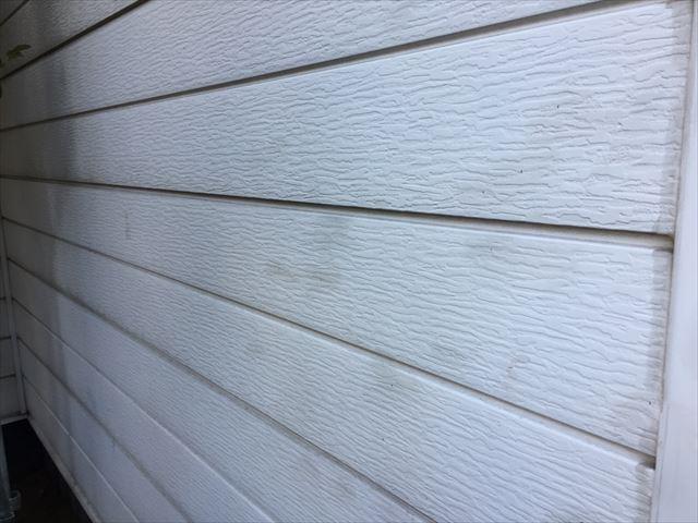 岡山市北区 外壁塗装 汚れが目立ちます