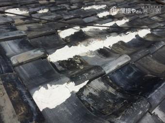岡山市北区 漆喰補修