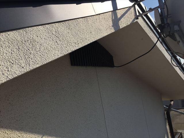 岡山市北区 屋根葺き替え工事 ケラバ板金