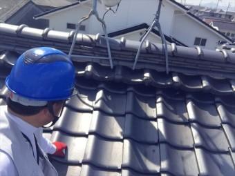岡山市南区 屋根点検