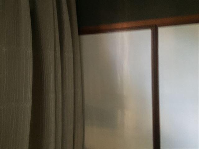 岡山市南区 壁に雨漏り跡