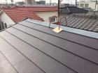 岡山市北区 スーパーガルテクトの工事2階です