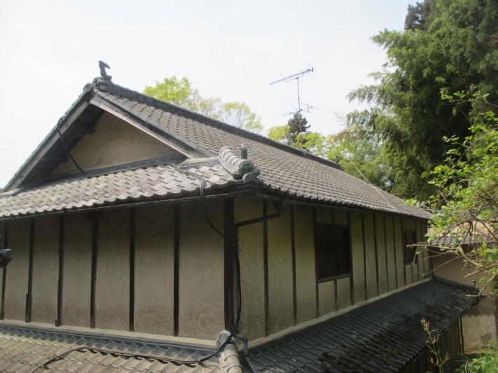 岡山県久米南町 屋根工事 瓦の種類はセメント瓦