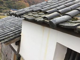 岡山市東区 蔵の屋根修理