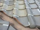 岡山市南区 屋根修繕 1階の瓦止めラバーロック工法