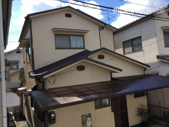 岡山市北区 スーパーガルテクトの工事完成