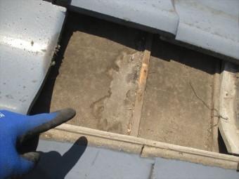 岡山市南区 屋根工事 雨漏り修理 雨漏り 雨水の入ったあと
