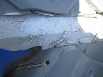岡山市南区 屋根工事 雨漏り修理 谷板金