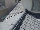 岡山市南区 屋根工事 雨漏り修理 瓦撤去前