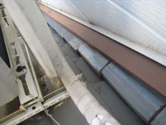 岡山県市北区 屋根工事 屋根リフォーム 熨斗のズレ