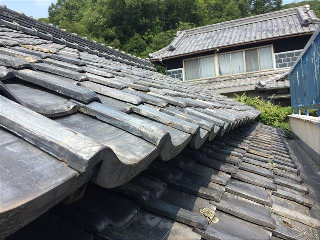 岡山市東区で雨漏り点検