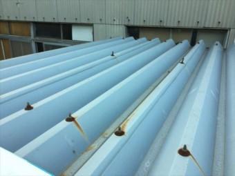 倉敷市 板金屋根修理
