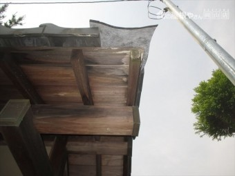 岡山市中区 屋根補修工事 瓦がないので応急処置で防水紙で雨養生