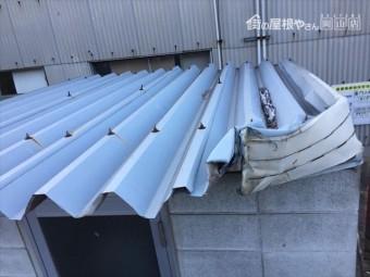 倉敷市 屋根修理 折板屋根取り替え