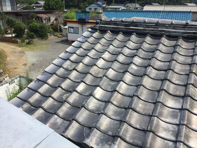岡山市東区で谷周りの雨漏り点検