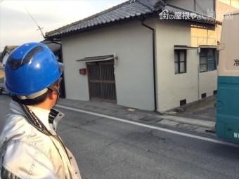 岡山市北区 外壁塗装ローラー仕上げ完成です。