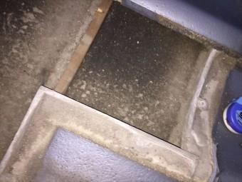 倉敷市 雨漏り点検 瓦の下の状態