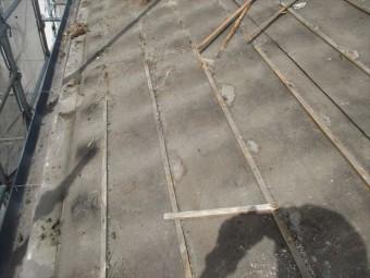 岡山市南区 屋根工事 屋根リフォーム 雨漏り修理 雨漏りあと