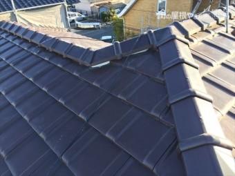 岡山市南区 2階の隅棟 強力棟で施工完成