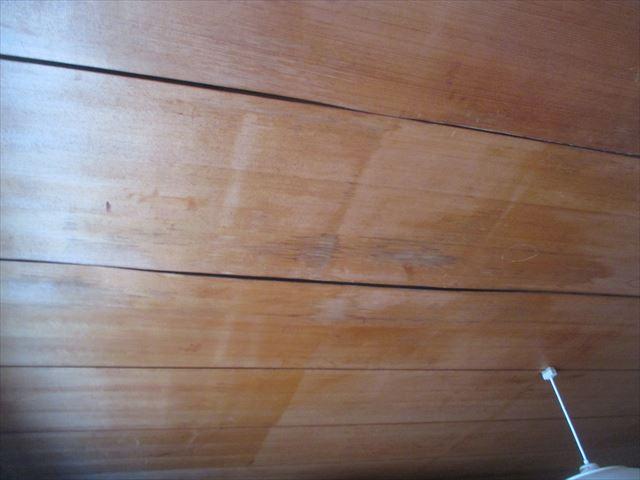 岡山市北区 雨漏り修理 防水紙劣化