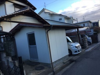 岡山市南区 雨漏り修理 倉庫
