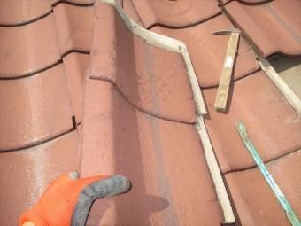 岡山市南区 屋根工事 屋根葺き替え工事 塗装工事不良