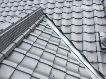 岡山県玉野市 屋根工事 雨漏り修理 瓦のズレが直りました。