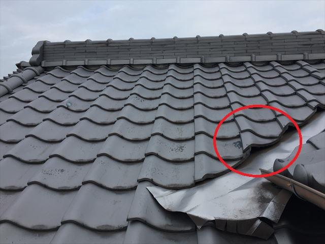岡山県玉野市 屋根工事 雨漏り修理 雨漏り点検