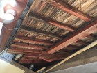 吉備中央町 雨漏り修理 野地板垂木腐っています。