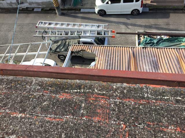 岡山市南区屋根補修工事