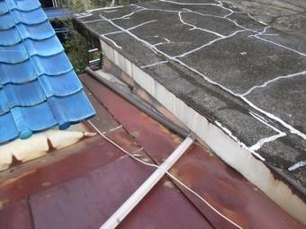 岡山市南区 雨漏り修理 屋根リフォーム工事