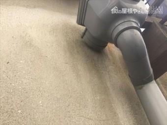 岡山市北区で大谷の板金の入れ替え。雨漏り修理