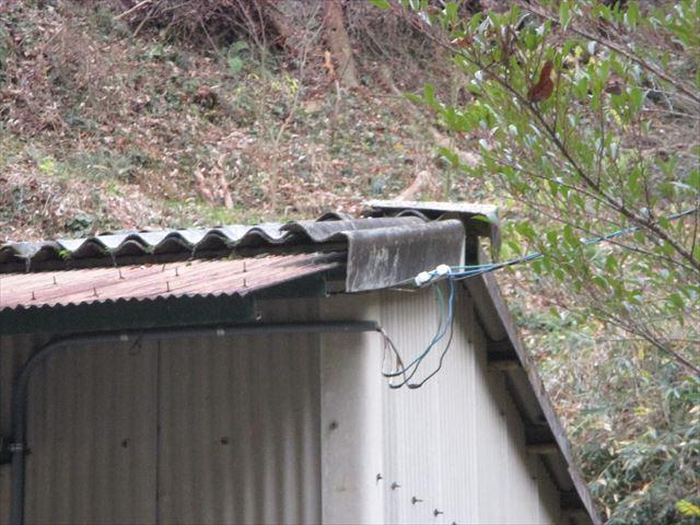 鏡野町 スレート屋根 カバー工法 屋根点検