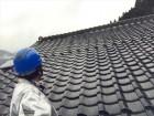 鏡野町 屋根工事 雨漏り修理 点検の模様