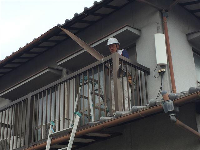 岡山市南区で雨樋の修理