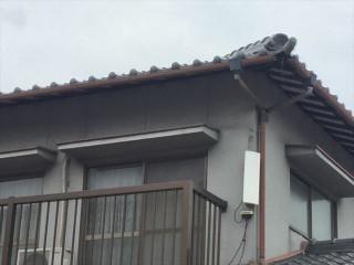 岡山市南区で雨樋補修工事
