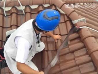 岡山市東区 屋根工事 雨漏りの点検