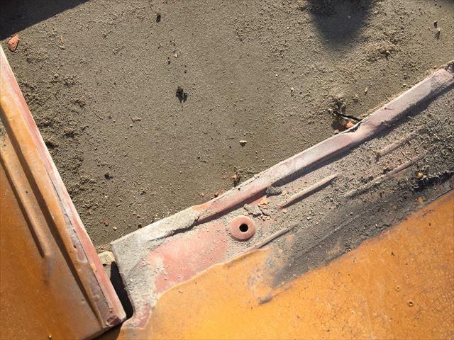 岡山市南区 雨漏り修理 防水紙の劣化