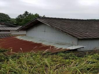 岡山県美咲町 屋根リフォーム セメント瓦