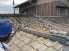 岡山市南区 棟の崩れ