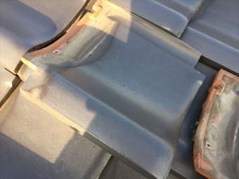 岡山市南区 雨漏り修理 瓦屋根点検